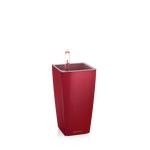 Αυτοποτιζόμενη Γλστρα Mini Cubi Lechuza Κόκκινο