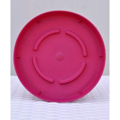 Πιάτο City Plastona Ροζ Σκούρο