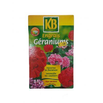 Λίπασμα για Γεράνια και Ανθοφόρα Φυτά Engrais Geraniums KB 750g