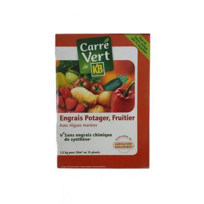Λίπασμα Βιολογικής Καλλιέργειας για Φρούτα και Λαχανικά Carre Vert KB 1.5Kg
