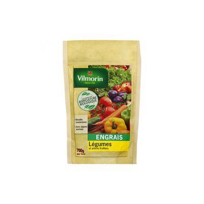 Βιολογικό Λίπασμα για Λαχανικά και Καρποφόρα Vilmorin 700g