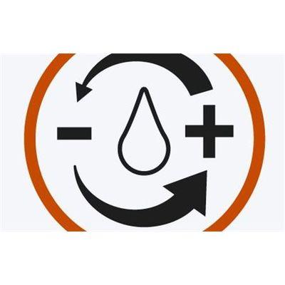 Ελεύθερη ρύθμιση νερού ή διακοπή ροής