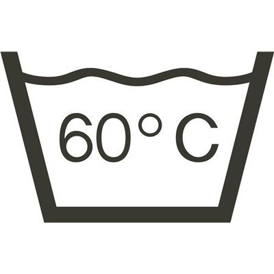 Πλένεται στους 60°