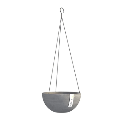 Γλάστρα Hanging Brussels Grey Ecopots