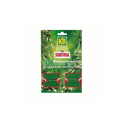 Λίπασμα σε Ράβδους για Πράσινα Φυτά KB 40 τμχ