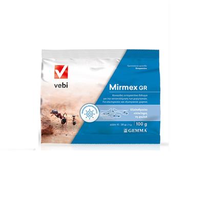 Εντομοκτόνο Κοκκώδες Δόλωμα Mirmex Vebi 100gr
