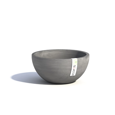 Γλάστρα Brussels D30 Grey Ecopots
