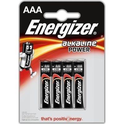 Αλκαλική Μπαταρία Εnergizer Alkaline Power ΑΑΑ 4τμχ