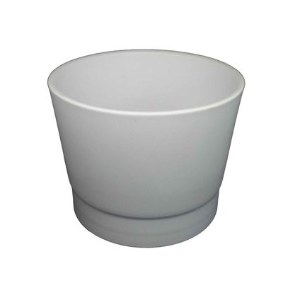 Πήλινο Κασπώ Λευκό 13cm