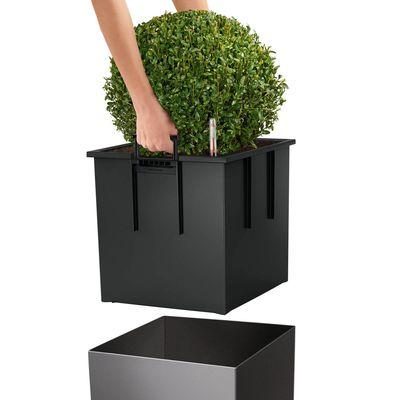 Αυτοποτιζόμενη Γλάστρα Cube Premium 30 Lechuza Λευκή